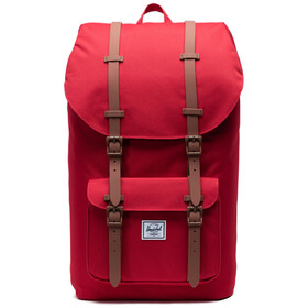 Herschel Little America Rugzak, red/saddle brown